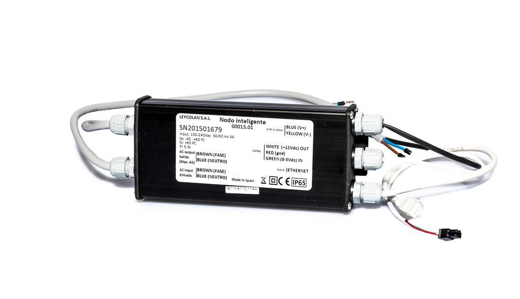 Nodo de Control PLC - Banda ancha hasta 200 Mbs
