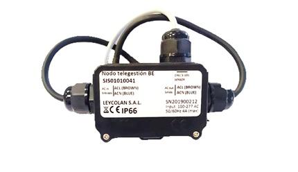 Nodo de Control PLC - Banda estrecha